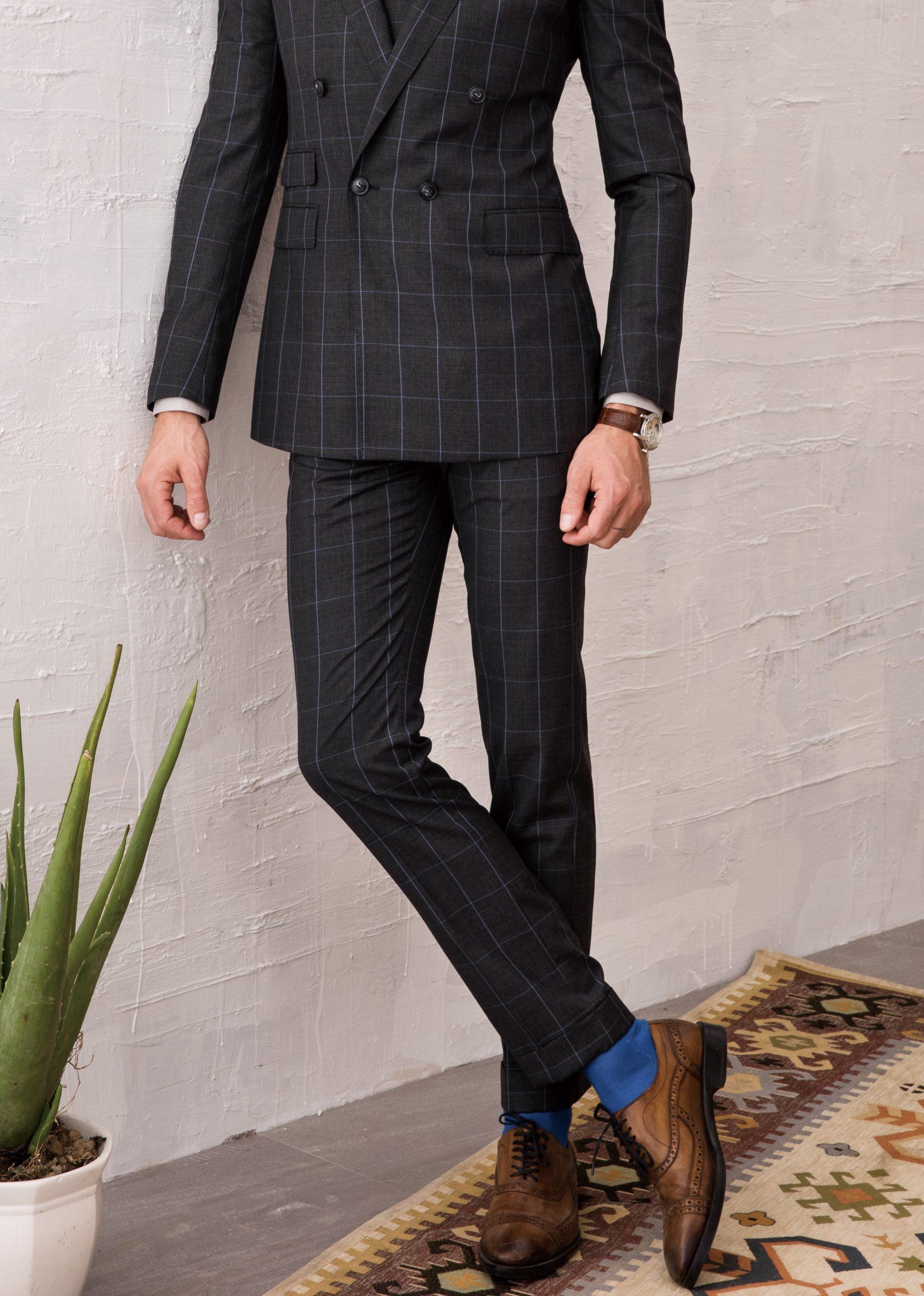 mens tailored trousers dubai