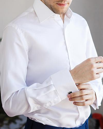 A crisp white shirt